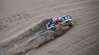 Le rallye était passé par le Pérou pour l'édition 2019. (FRANCK FIFE / AFP)