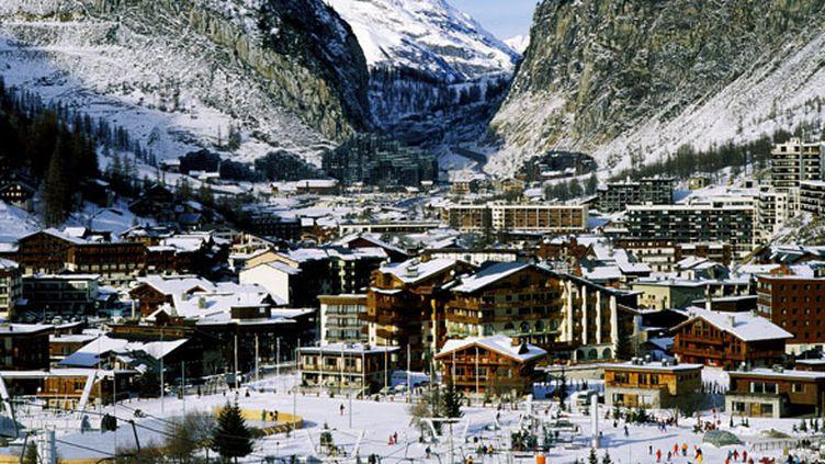 La station de Val d'Isère