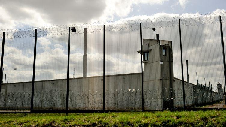 La prison deSequedin, dans le Nord, le 15 avril 2013. (Photo d'illustration) (PHILIPPE HUGUEN / AFP)