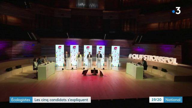 Présidentielles de 2022 : cinq candidats pour la primaire écologiste