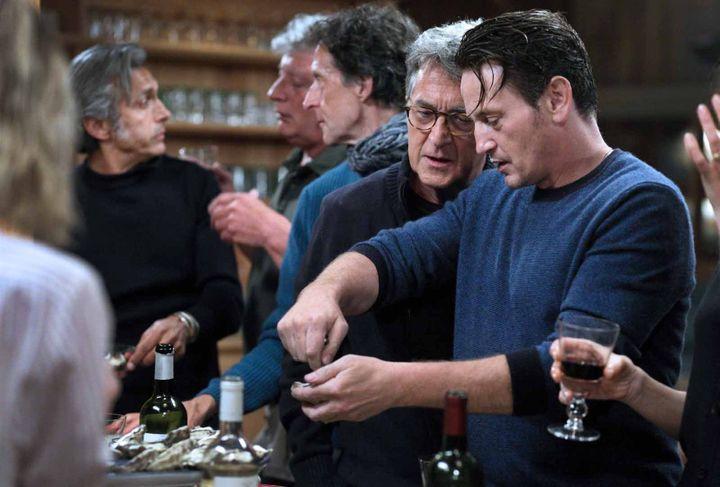 """François Cluzet et Benoît Magimel dans """"Nous vieillirons ensemble"""" (2019 Trésor Films - Canéo Films - Europacorp - M6 Films - Les Productions du Trésor - Artémis Productions)"""