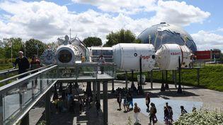 La Cité de l'Espace à Toulouse, qui rend hommage à Apollo 11 ce week-end. (PASCAL PAVANI / AFP)
