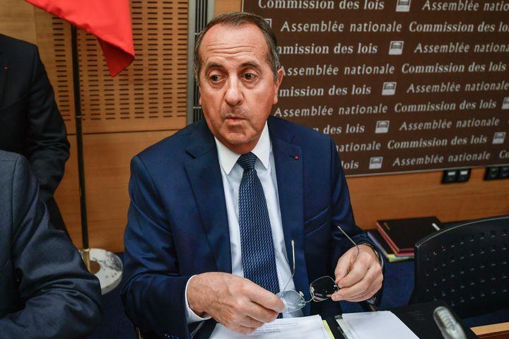 Le préfet de police de Paris, Michel Delpuech, répondaux questions des parlementaires sur l'affaire Benalla, le 23 juillet 2018. (JACQUES DEMARTHON / AFP) (JULIEN MATTIA / LE PICTORIUM / MAXPPP)