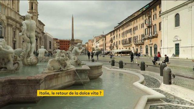 Déconfinement : l'Italie rouvre progressivement ses terrasses et sites culturels