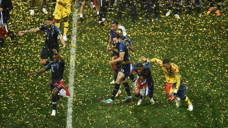 L'équipe de France est sacrée championne du monde 2018 (ZHONG ZHENBIN / IMAGINECHINA)