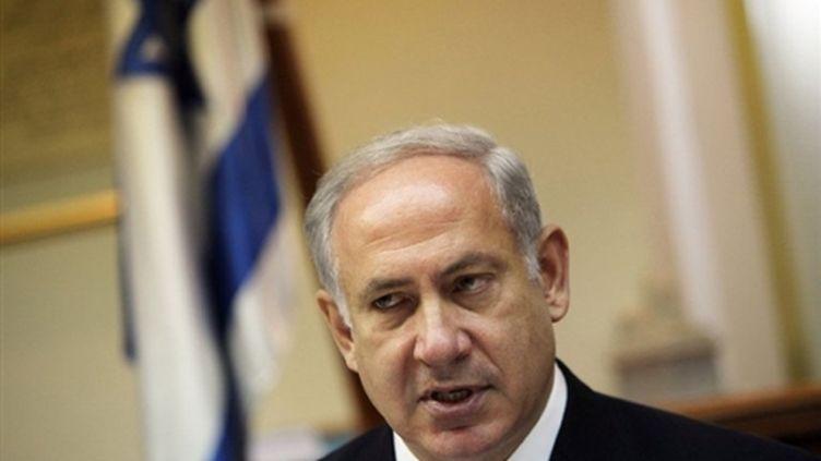 Le premier ministre israélien Benjamin Netanyahu (© AFP Jim Hollander)