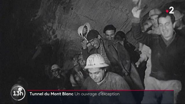 Dans le rétro : le Mont-Blanc, un tunnel exceptionnel