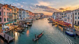 Venise en Italie. Notre culture populaire se nourrit depuis longtemps de la chanson italienne (RILINDH / ROOM RF / GETTY IMAGES)
