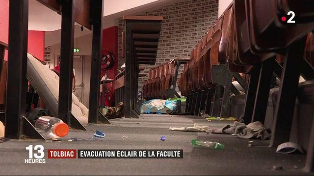 Tolbiac : évacuation éclair de la faculté