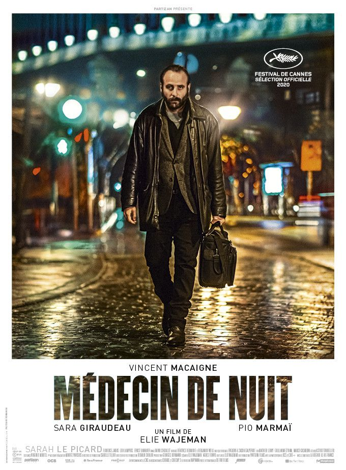 """L'affiche de """"Médecin de nuit"""" deElie Wajeman (2020). (DIAPHANA DISTRIBUTION)"""