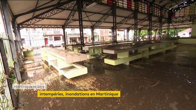 Intempéries, inondations dévastatrices en Martinique