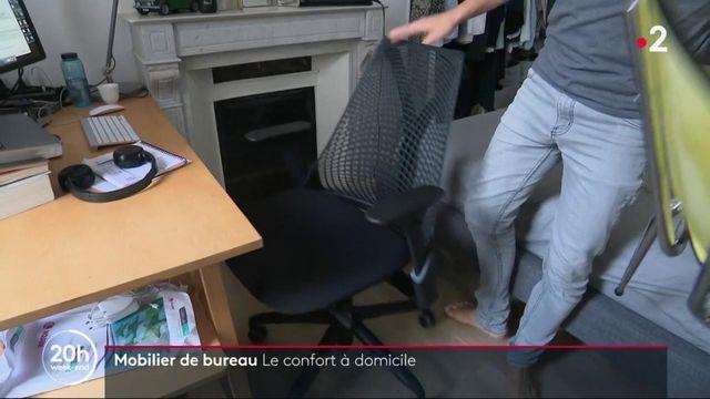 Télétravail : le mobilier de bureau a le vent en poupe