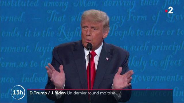 Élection présidentielle américaine : un dernier débat plus poli entre Trump et Biden