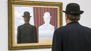 """""""René Magritte. La trahison des images"""", exposition au Centre Pompidou de Paris jusqu'au 23 janvier 2017  (Â MaxPPP / Annie Viannet/MAXP)"""