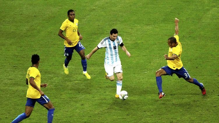 S'ils se qualifient, le Brésil et l'Argentine se rencontreront en demi-finale de la Copa America (STRINGER / IMAGINECHINA)
