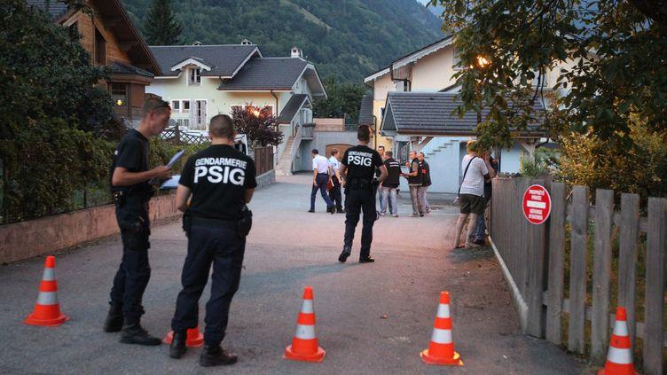Le drame s'est produit au domicile de la famille, à Bozel (Savoie), le 26 juillet 2012. (THIERRY GUILLOT / LE DAUPHINÉ LIBÉRÉ / MAXPPP)