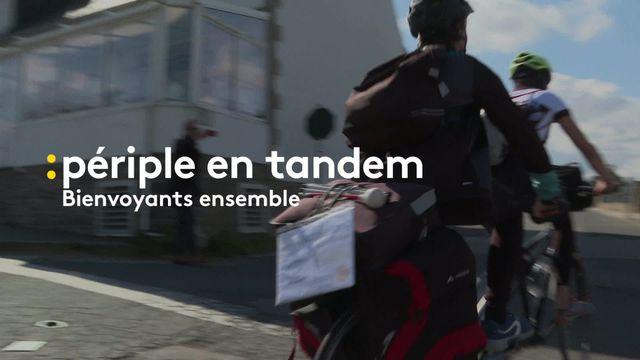 """1500 km en tandem pour l'association """"Bienvoyants ensemble"""""""