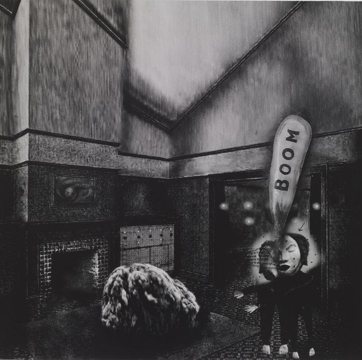 David Lynch, Interior #1  (David Lynch, Courtesy Galerie Item, Paris)