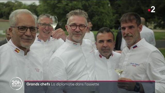 Gastronomie et diplomatie : le rendez-vous des cuisiniers des chefs d'État