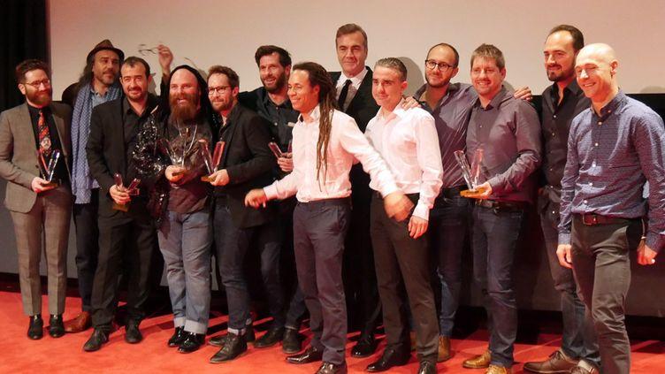 Les musiciens lauréats des Victoires du Jazz 2017  (Annie Yanbékian / Culturebox)