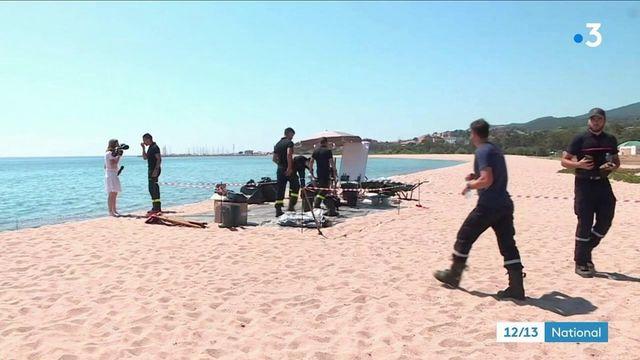 Haute-Corse: trois jours après le dégazage sauvage d'un bateau, le nettoyage se poursuit sur la plage de Solaro
