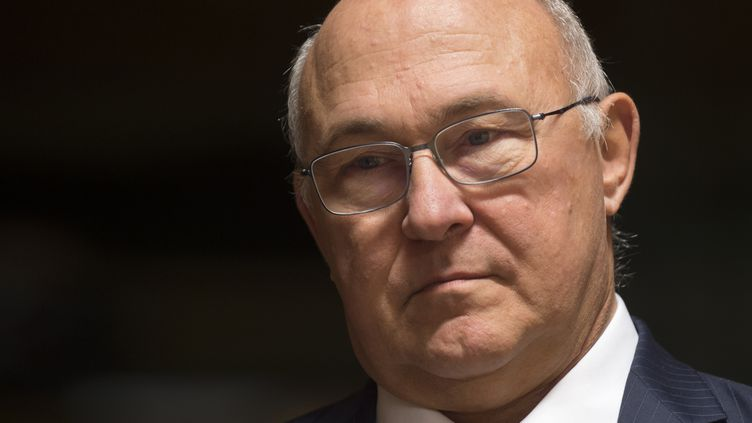 Michel Sapin, ministre de l'Economie et des Finances. (JOHN THYS / AFP)
