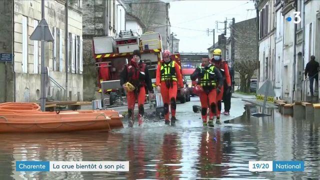 Inondations : la situation reste préoccupante à Saintes