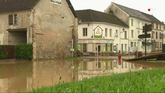 Orages : brusque montée des eaux en Seine-et-Marne