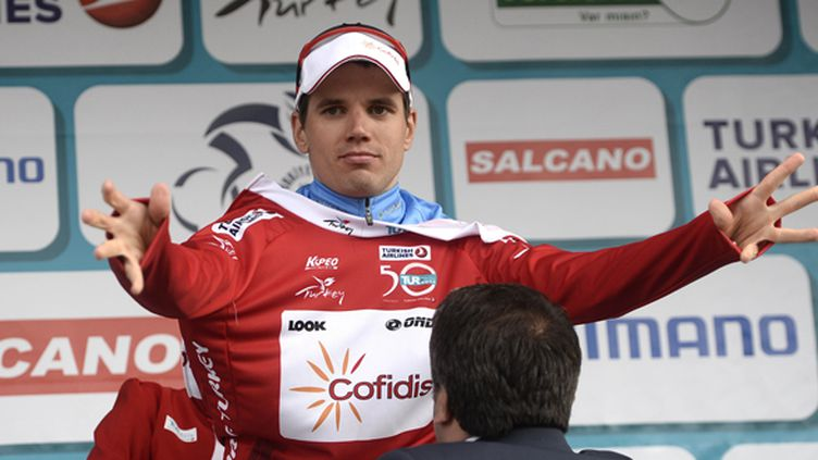 Rein Taaramae (Cofidis) sera sur le Tour de France (ATILGAN OZDIL / ANADOLU AGENCY)