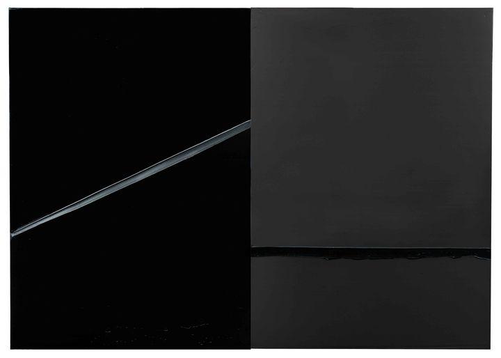 """Pierre Soulages """"Peinture""""222 x 314 cm 24 février 2008"""", Paris, Pierre Soulages (© Archives Soulages/ADAGP, Paris 2019)"""