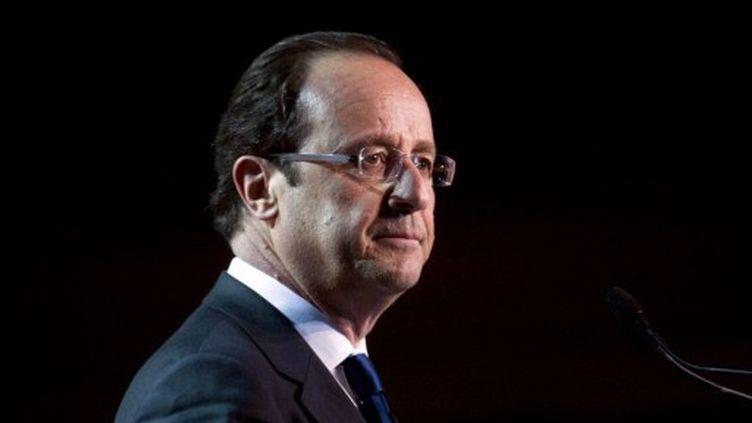 Selon François Hollande, la croissance de la France sera à zéro en 2012 (AFP)