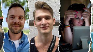 Huit Hongrois ont raconté à franceinfo à quoi ressemblait leur vie de personnes LGBT+ depuis l'arrivée au pouvoir de Viktor Orbán. (PIERRE-ALBERT JOSSERAND / FRANCEINFO)
