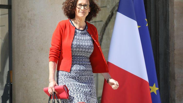 Emmanuelle Wargon,secrétaire d'Etat à la Transition écologique, à l'Elysée, à Paris, le 9 juillet 2019. (LUDOVIC MARIN / AFP)