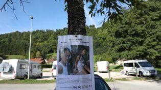 Avis de recherche concernant la disparition de Maëlys, dans la nuit du 26 au 27 août à Pont-de-Beauvoisin (Isère). (MAXPPP)