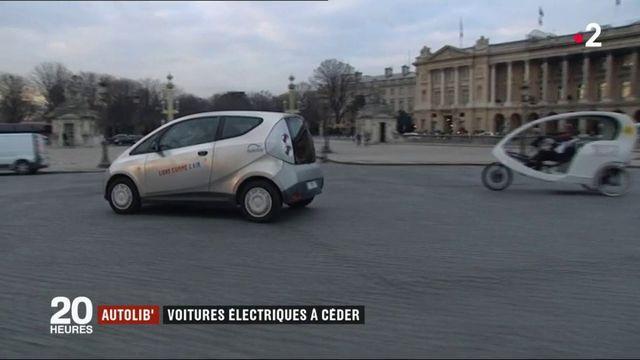 Autolib' : voitures électriques à céder