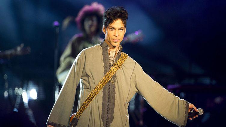 Prince sur scène à Stockholm, en Suède, le 12 août 2011  (Stephan Soderström / EXP / TT Nyhetsbyran / AFP)