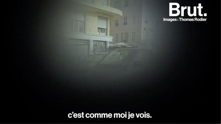 """VIDEO. """"J'étais malvoyant sans le savoir"""" : Thomas perd la vue et repense son avenir (BRUT)"""