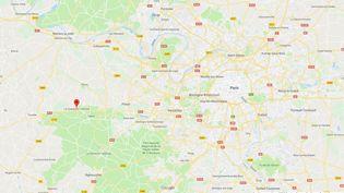 Roxanne M. a quitté le domicile familial mercredi 4 septembre à La Queue-lez-Yvelines et n'a pas donné de nouvelles depuis. (CAPTURE ECRAN GOOGLE MAPS / FRANCEINFO)