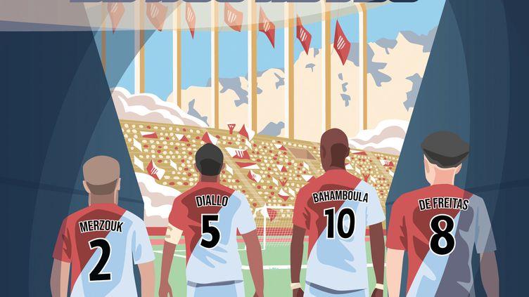 """""""Le coup d'envoi de nos rêves"""", de D.Bahamboula, L. Merzouk, A. Diallo et A. de Freitas (LES LIVRES DU DRAGON D'OR)"""