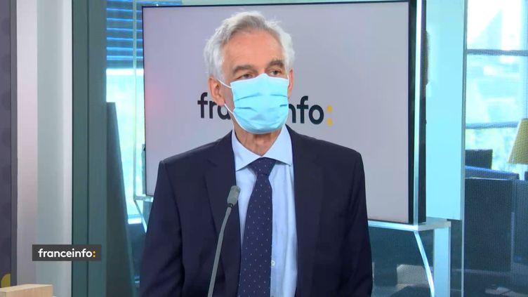 Jacques Damas, directeur général d'Eurostar, invité éco de franceinfo le 31 mai 2021. (FRANCEINFO / RADIO FRANCE)