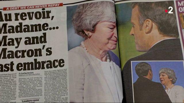 Royaume-Uni : les adieux de Theresa May après son échec sur le Brexit