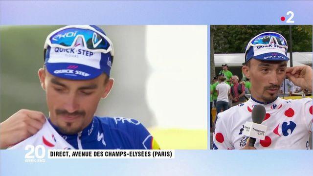 Tour de France : les premiers mots de Julian Alaphillipe après le Tour