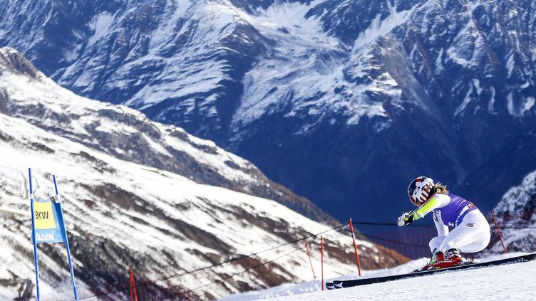 Mikael Shiffrin a tenu son rang lors de la première manche à Aspen  (? DOMINIC EBENBICHLER / REUTERS / X01771)