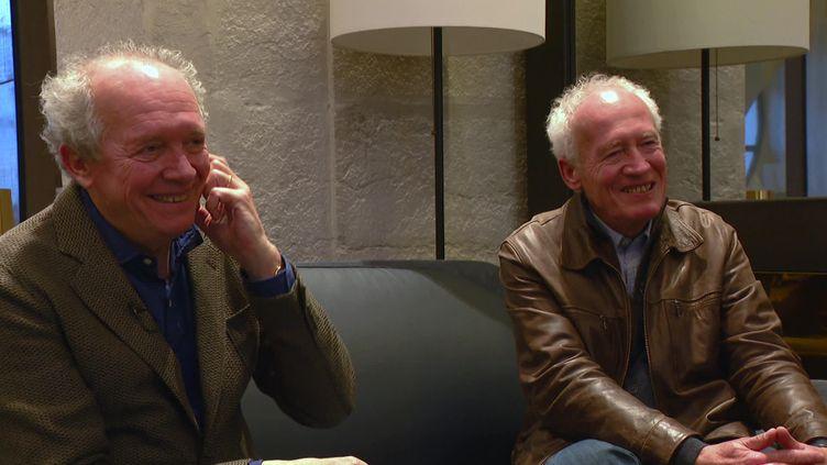 Luc et Jean-Pierre Dardenne, prix Lumière 2020. (France 3 Rhône-Alpes)