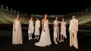 Collection croisière 2022 de la maison Dior, à Athènes, le 17 juin 2021 (Ria Mort)