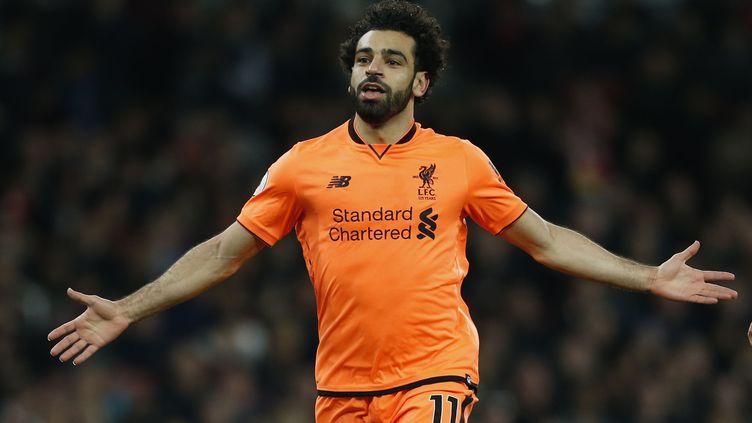 L'attaquant de Liverpool Mohamed Salah (IAN KINGTON / AFP)