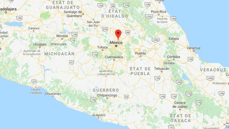 Le couplea été interpellé le 4 octobre 2018 à Ecatepec, une banlieue au nord-est de la capitale mexicaine. (GOOGLE MAPS / FRANCE INFO)