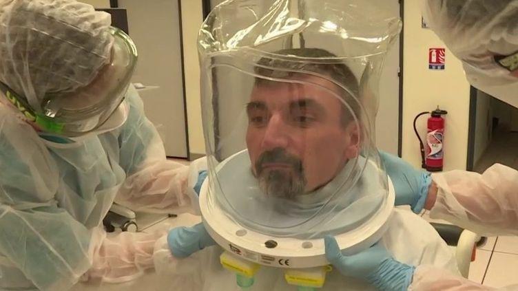 Coronavirus : à Toulon, des patients bénéficient d'un traitement d'oxygénothérapie (France 3)