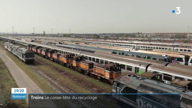 Transports : la SNCF recycle ses trains en fin de vie