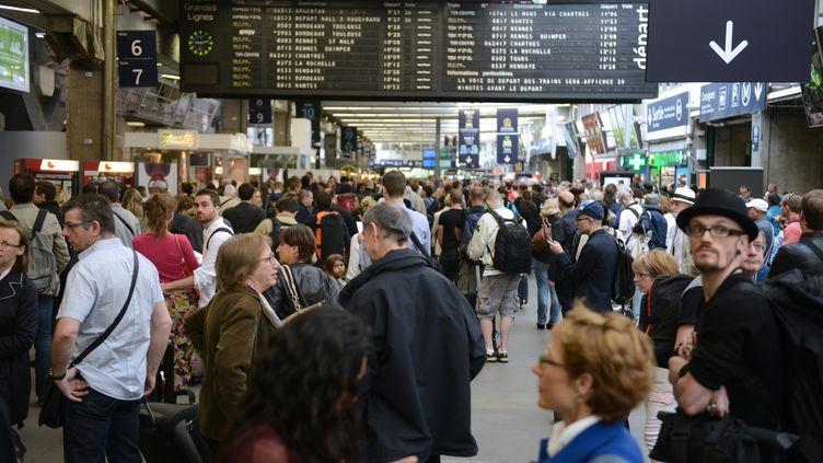 La gare de Montparnasse, à Paris, le 20 juin 2014. (DOMINIQUE FAGET / AFP)